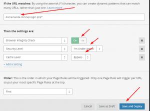Cara mengamankan wordpress login dengan cloudflare