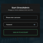 Cara Akses DirectAdmin