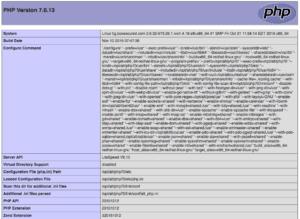 Cek Module dan settingan Server untuk Script Web kita